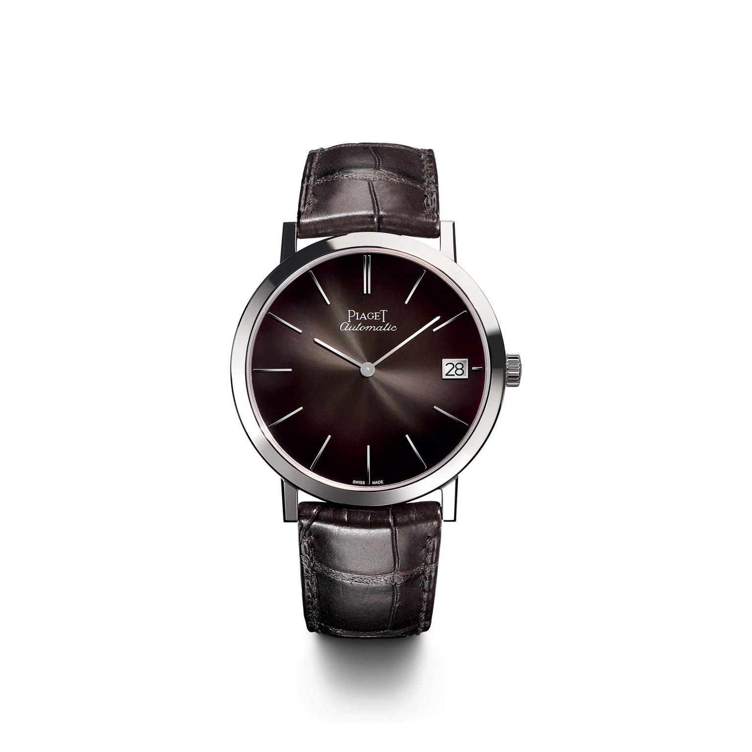 Piaget Altiplano 40mm with grey slate dial