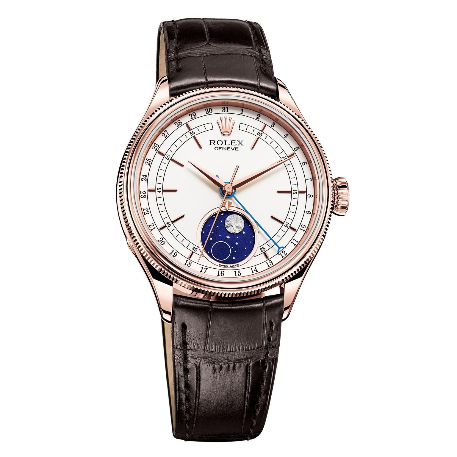 Rolex Cellini Moonphase watch in Everose gold
