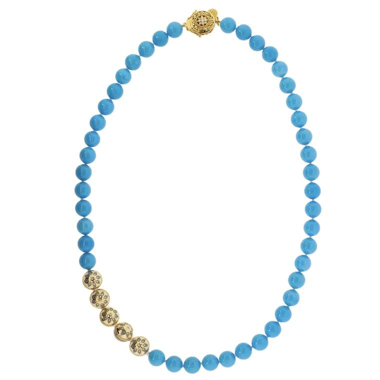 Turquoise necklace by Buddha Mama