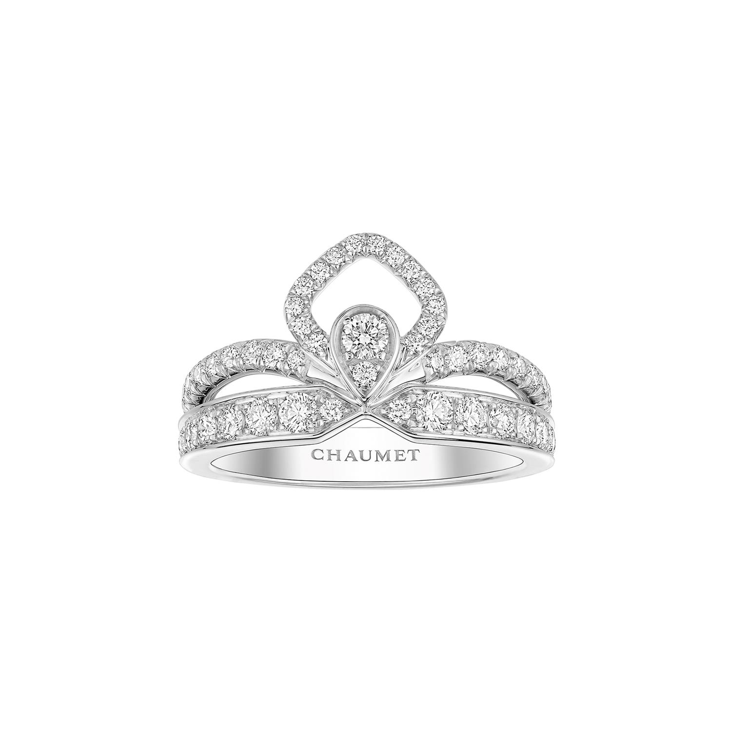 Chaumet Josephine white gold ring