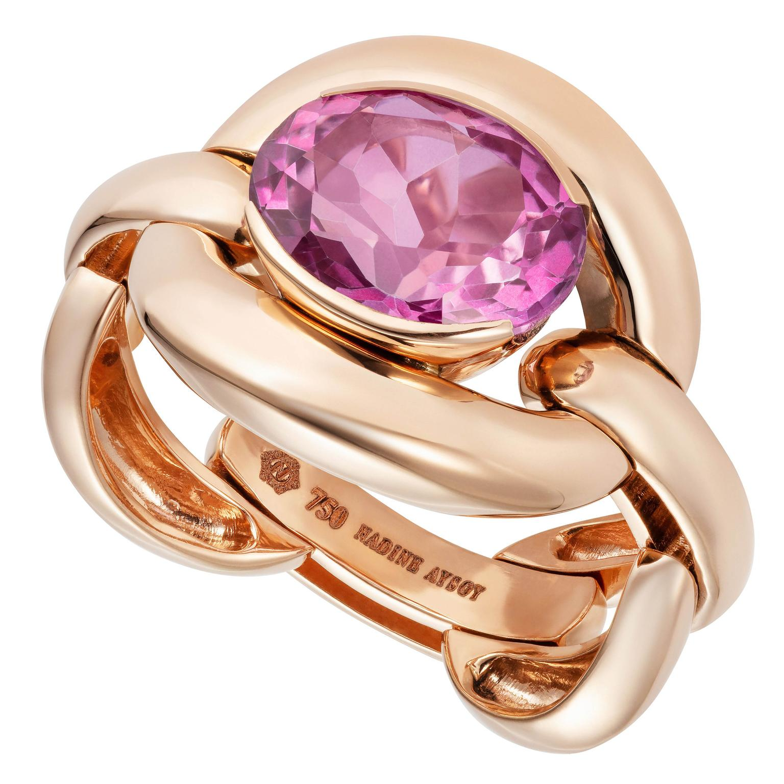 Catena ring from Nadine Aysoy