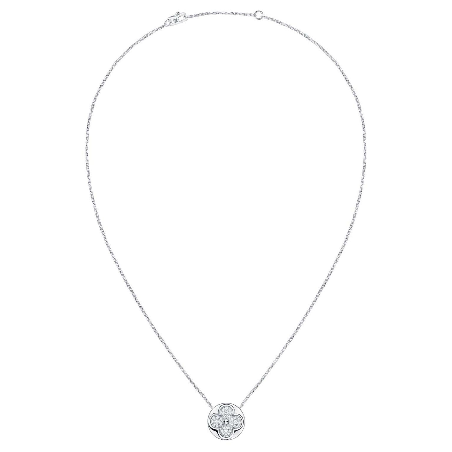 Louis Vuitton Diamond Blossom necklace