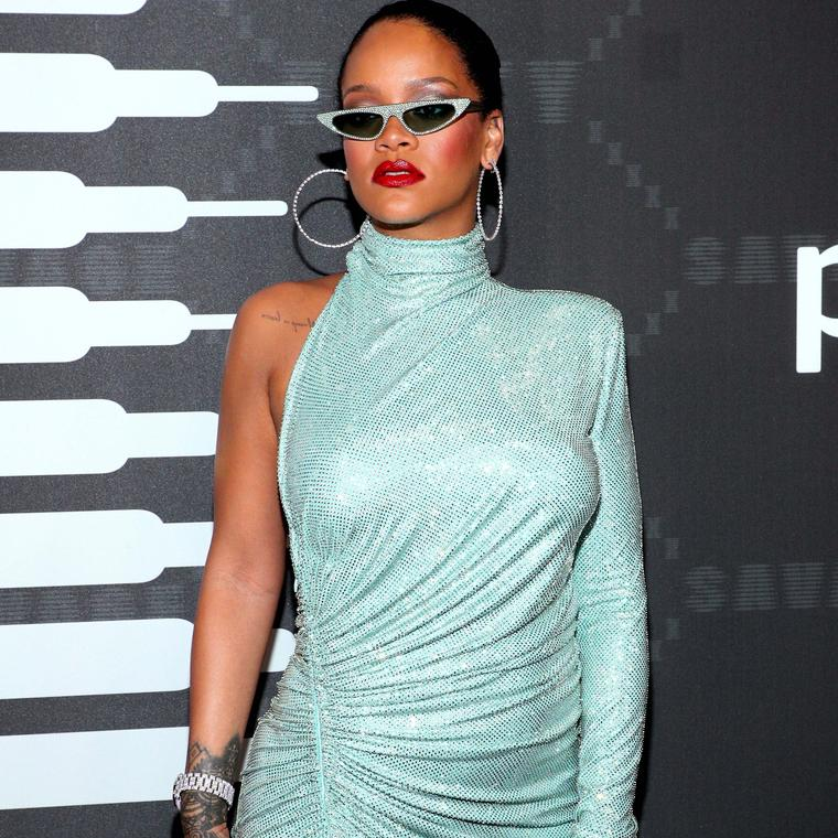 Rihanna in NYC in September 2019