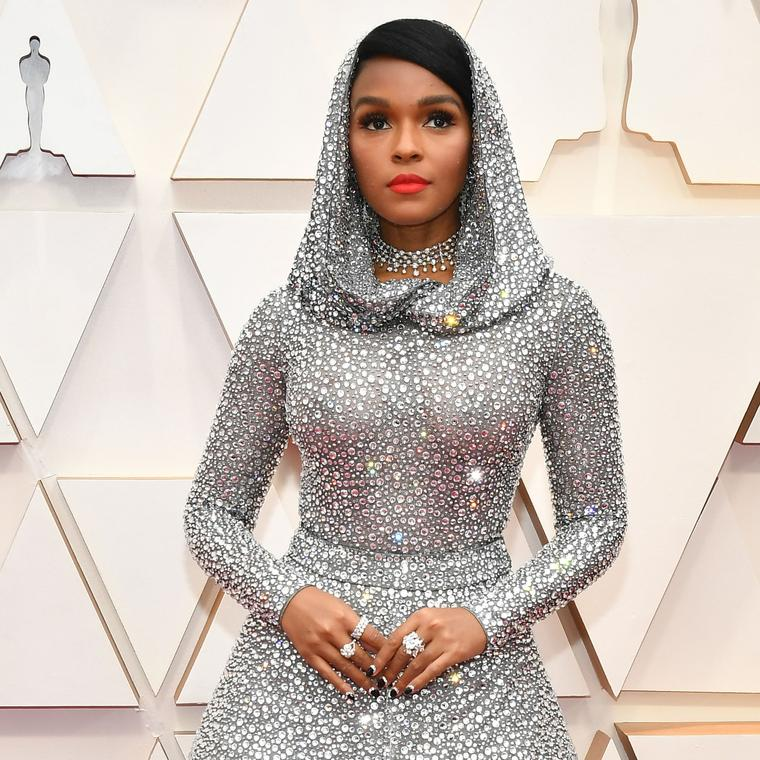 Janelle Monae in Forevermark at the 2020 Academy Awards
