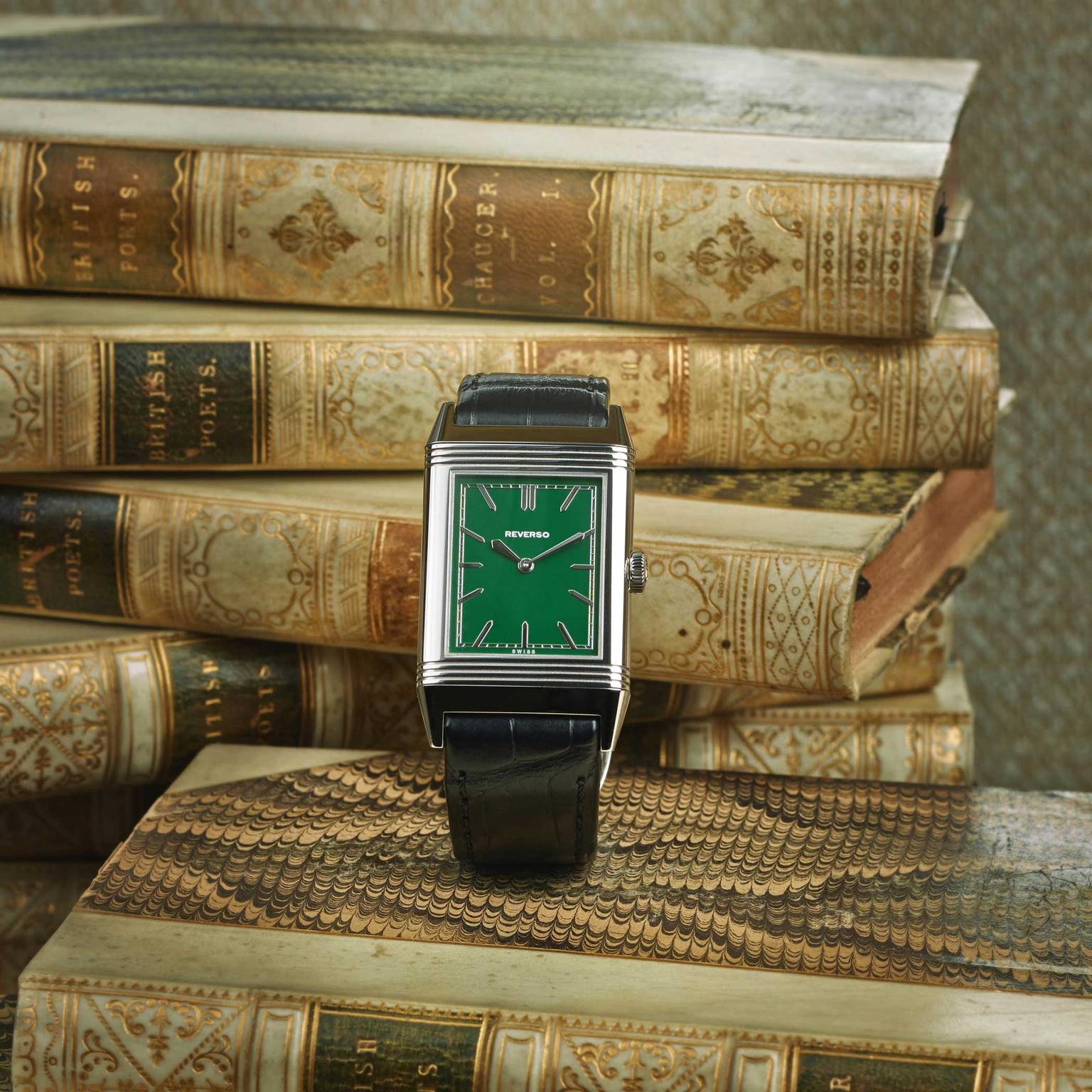 Jaeger-LeCoultre Grande Reverso UT Special London Flagship Edition front books