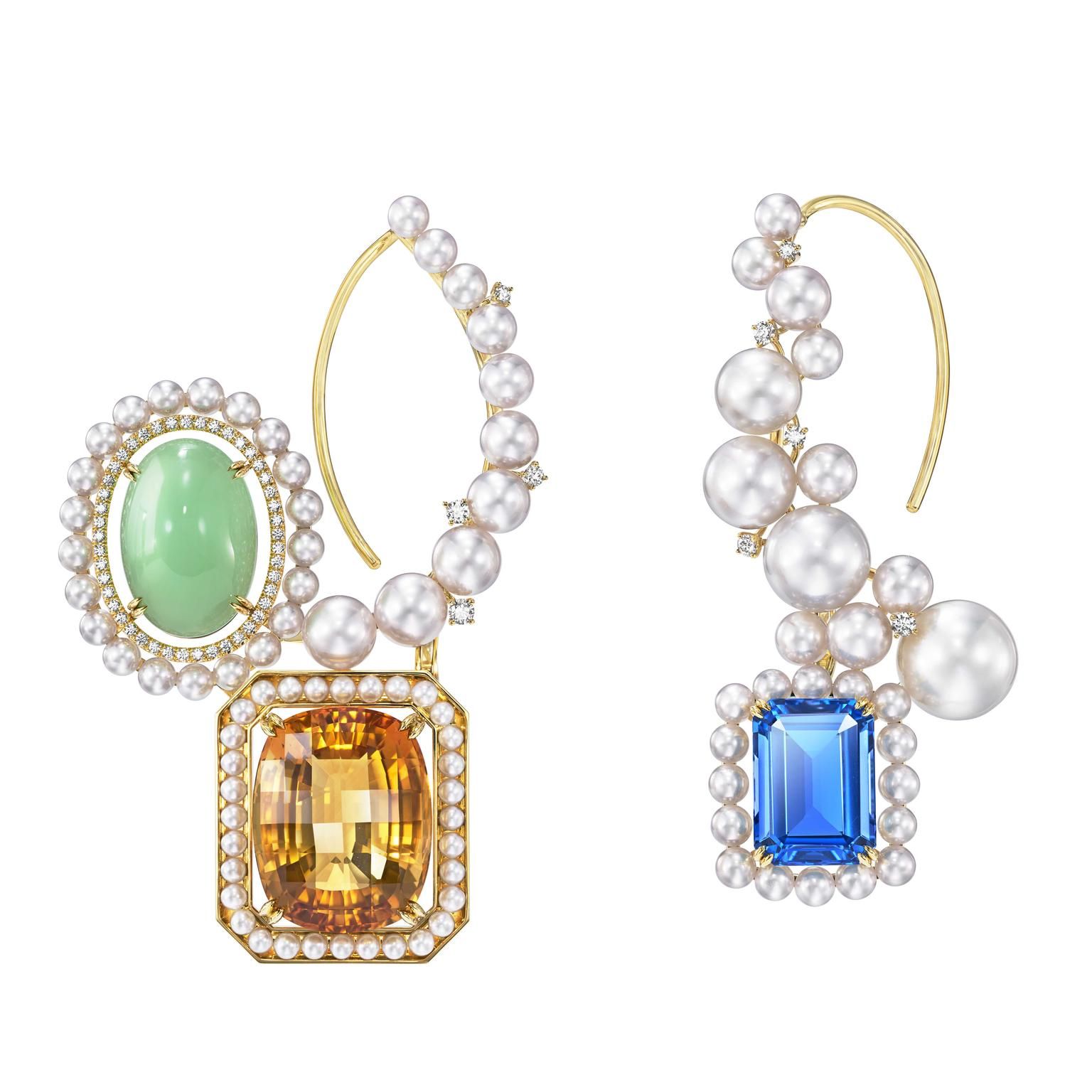 Ore earrings by Tasaki