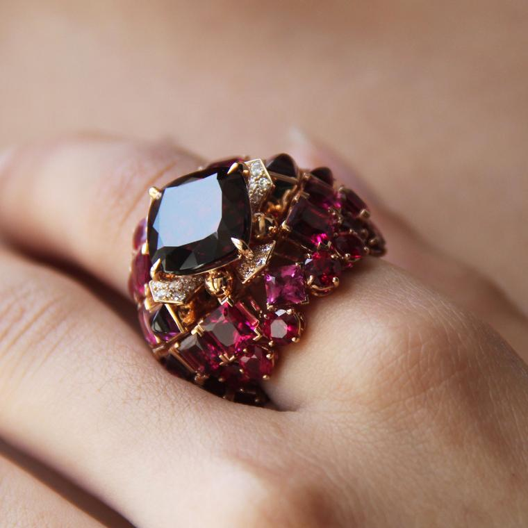 All you need to know about rhodolite garnets, January's birthstone