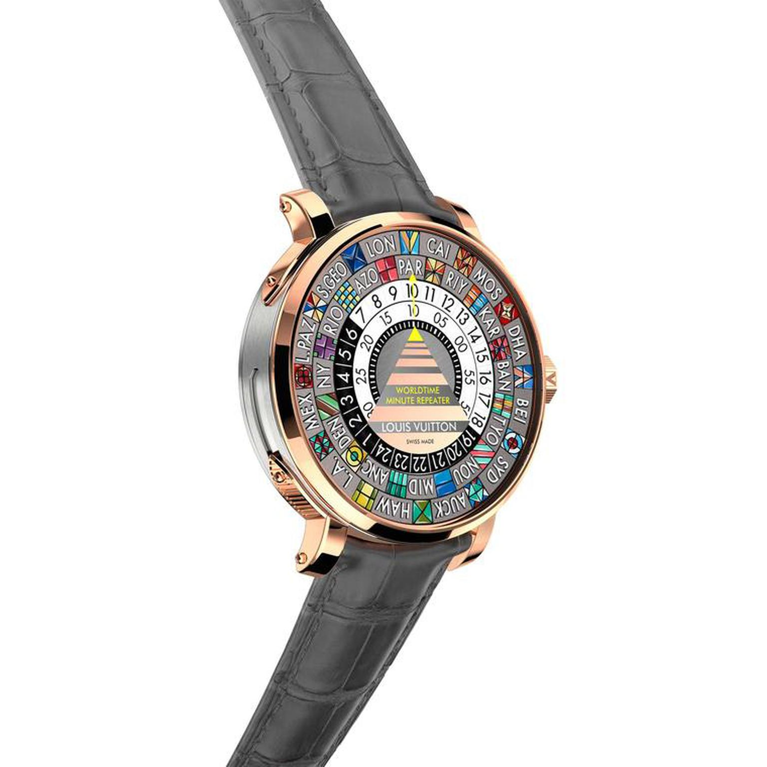 Louis Vuitton Escale Time Zone watch