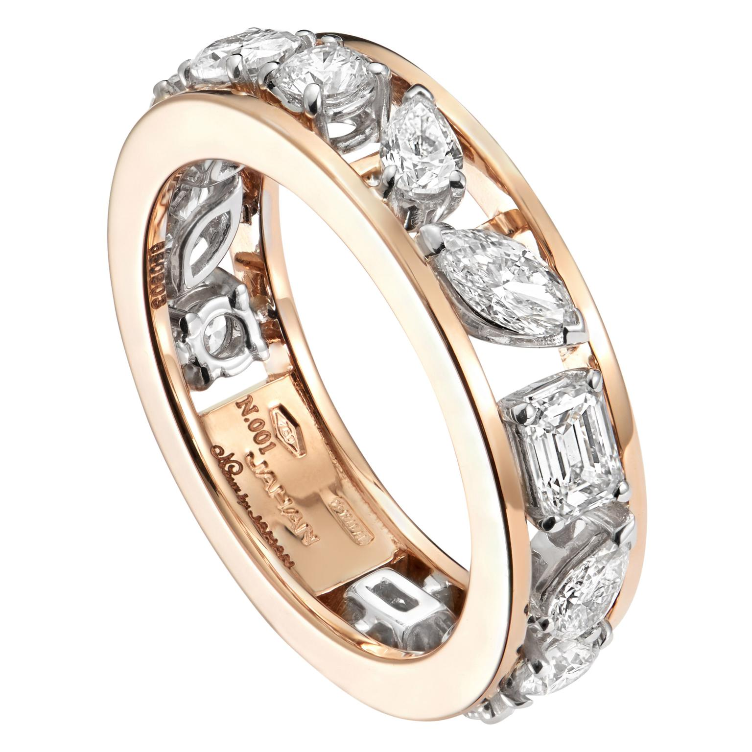 Nour By Jahan  Ring from the Jolie Collection