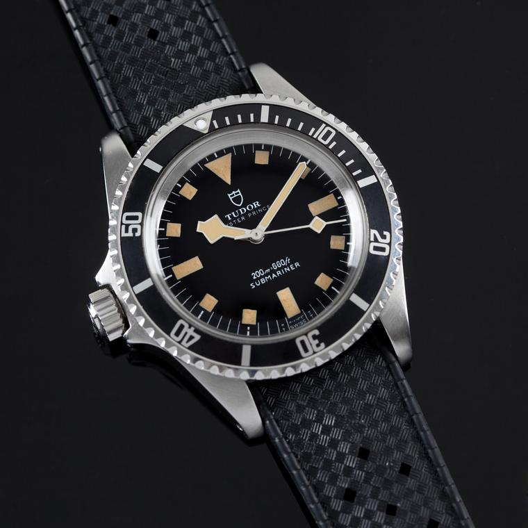 Reference 9401 - Tudor's left-handed dive watch for the french navy