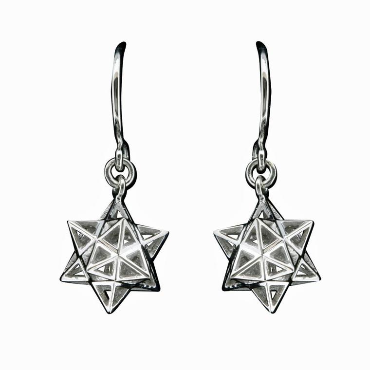 Solange Azagury-Partridge Lone Star earrings