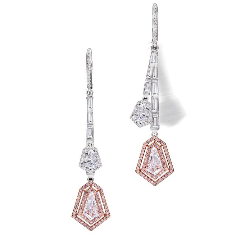 Avakian kite-cut high jewellery earrings