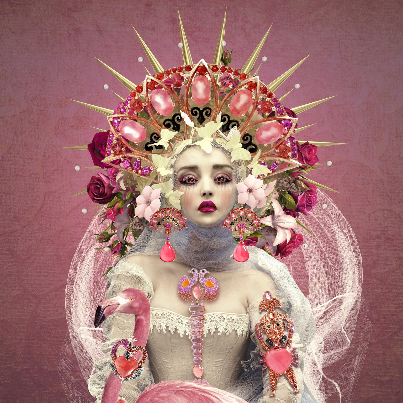 Lydia Courteille Rosa del Inca illustration by Natalie Shau