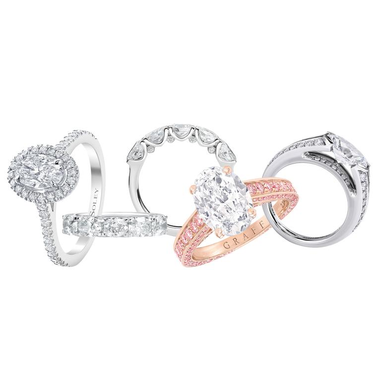 Oval engagement rings: the cut for maximum sparkle