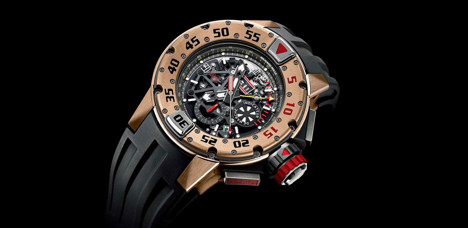 Richard Mille Dive watch WS theme