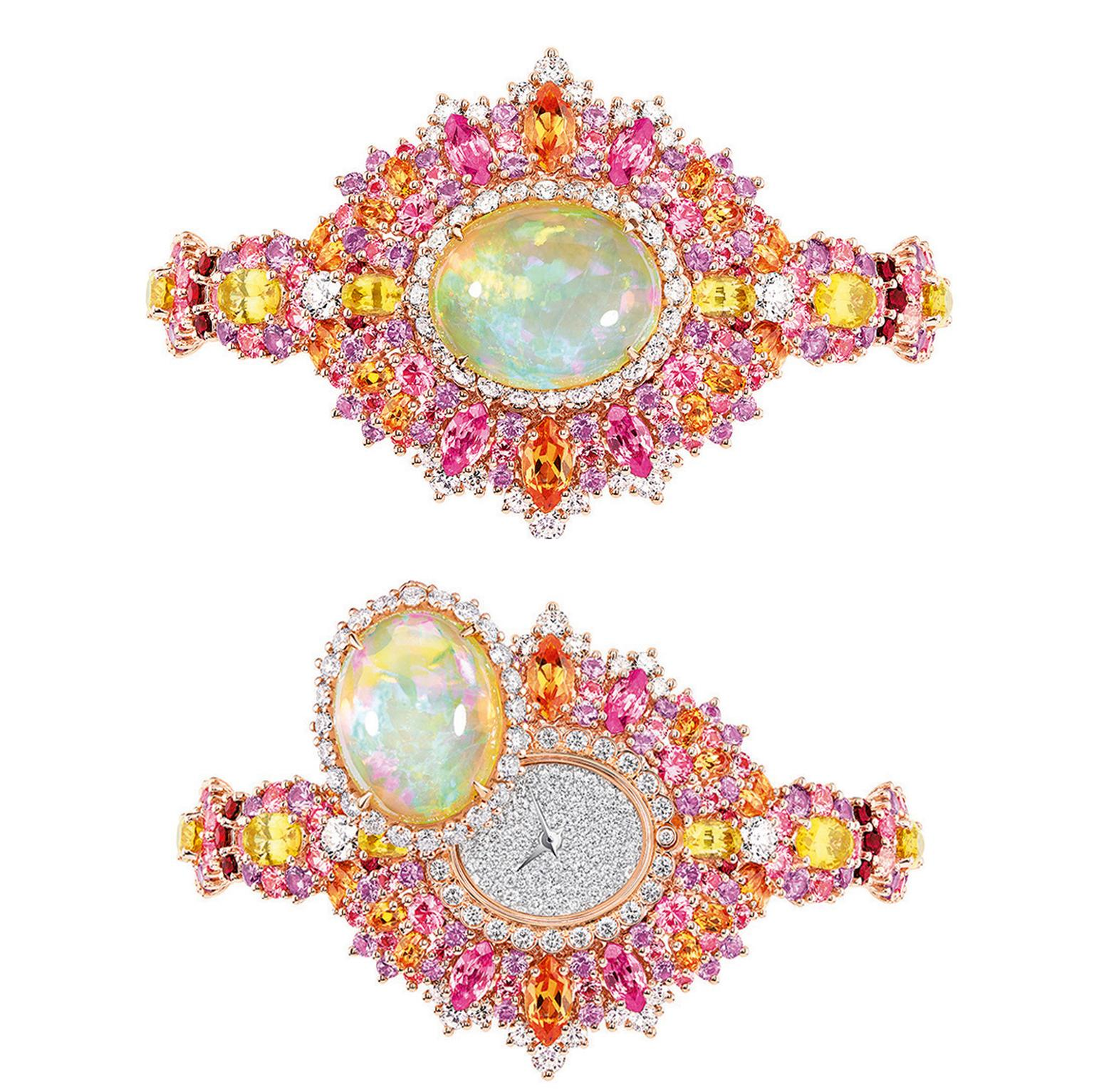 Dior Exquise Opal High Jewellery Timepiece