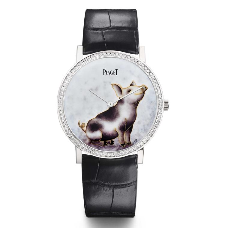 Piaget Altiplano Chinese New Year Pig watch