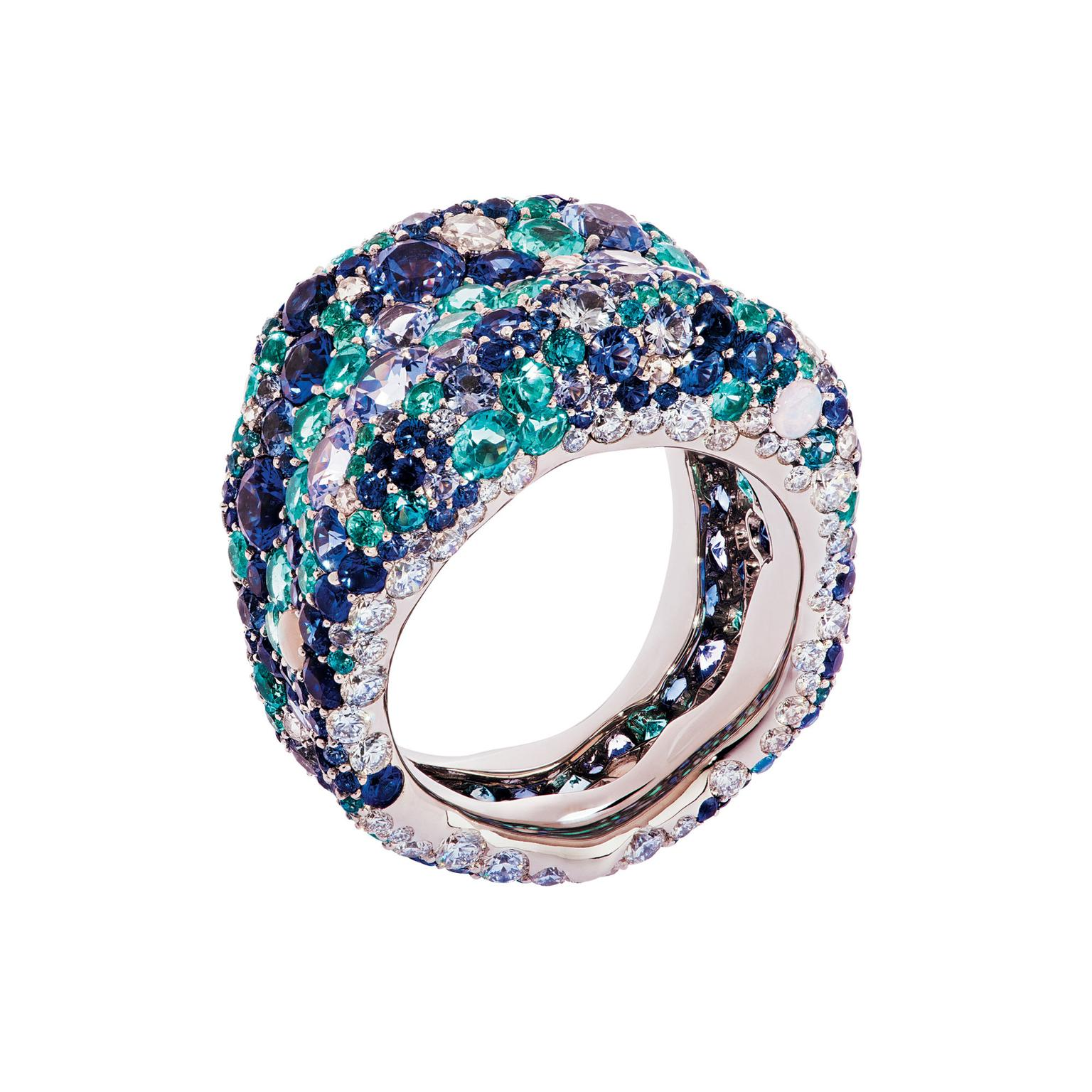 Fabergé Emotion Blue ring