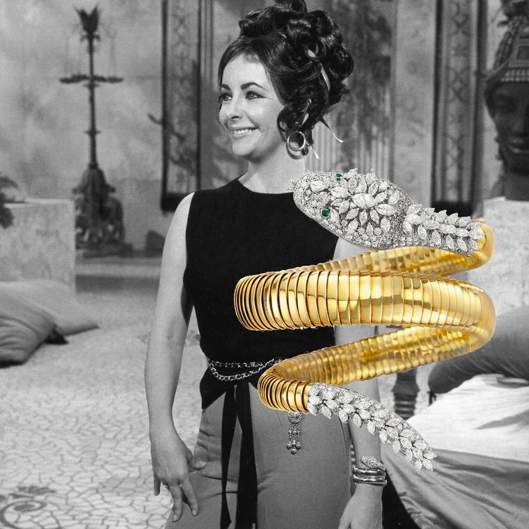 Elizabeth Taylor - Bulgari Serpenti watch