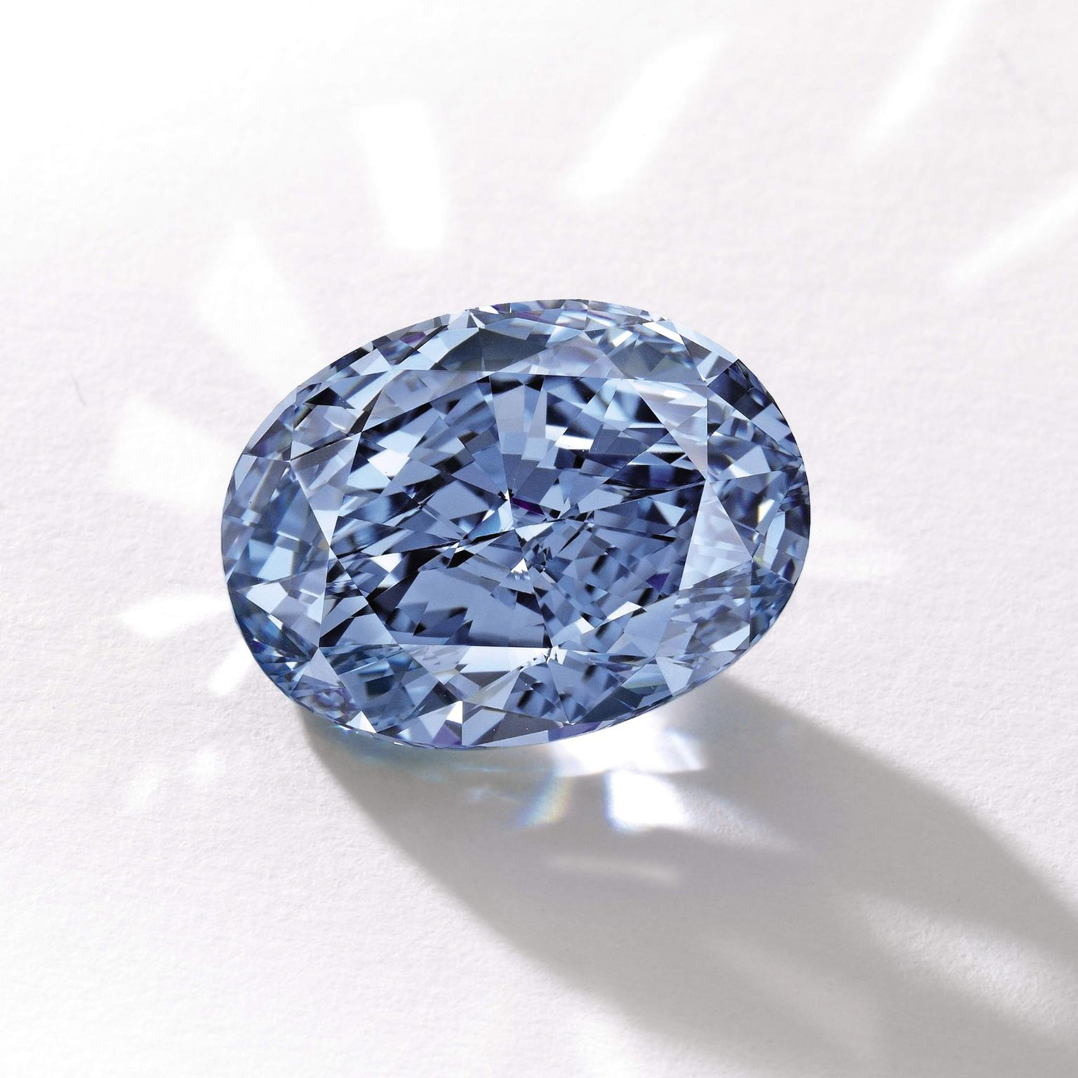 De Beers Millennium Jewel 4 blue diamond