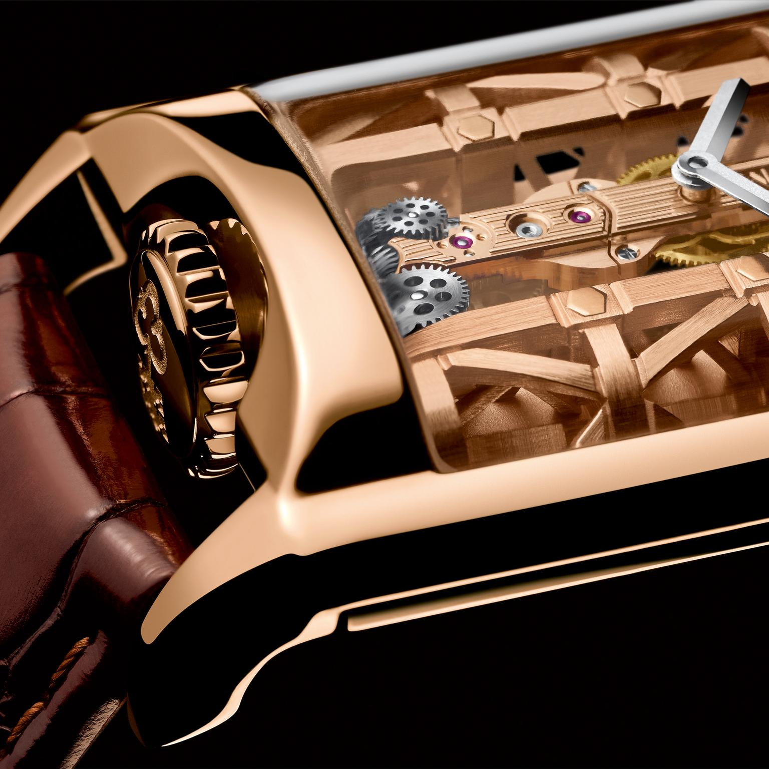 Corum Golden Bridge Stream watch