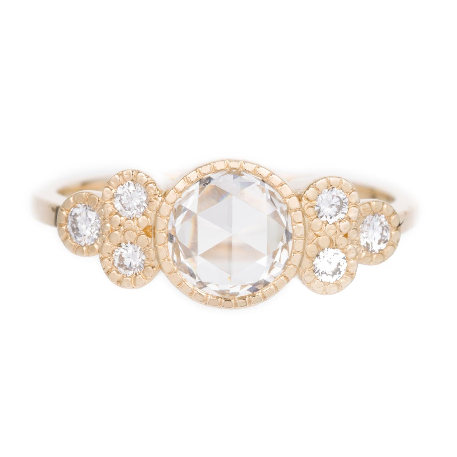 Jennie Kwon rose-cut diamond ring