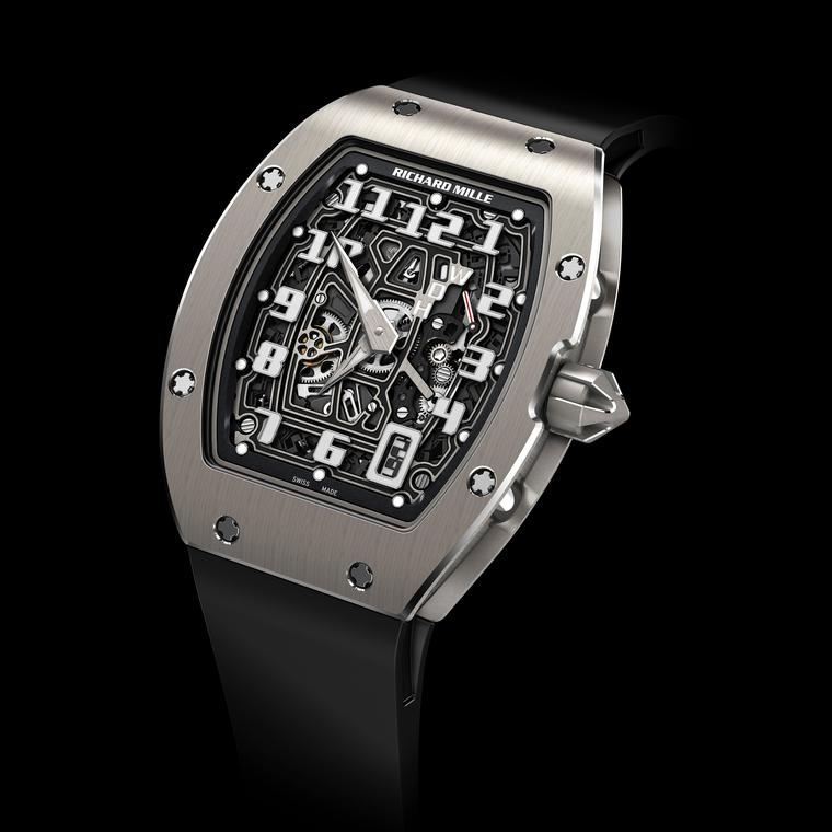 RM 67-01 Automatic Extra Flat model by Richard Mille
