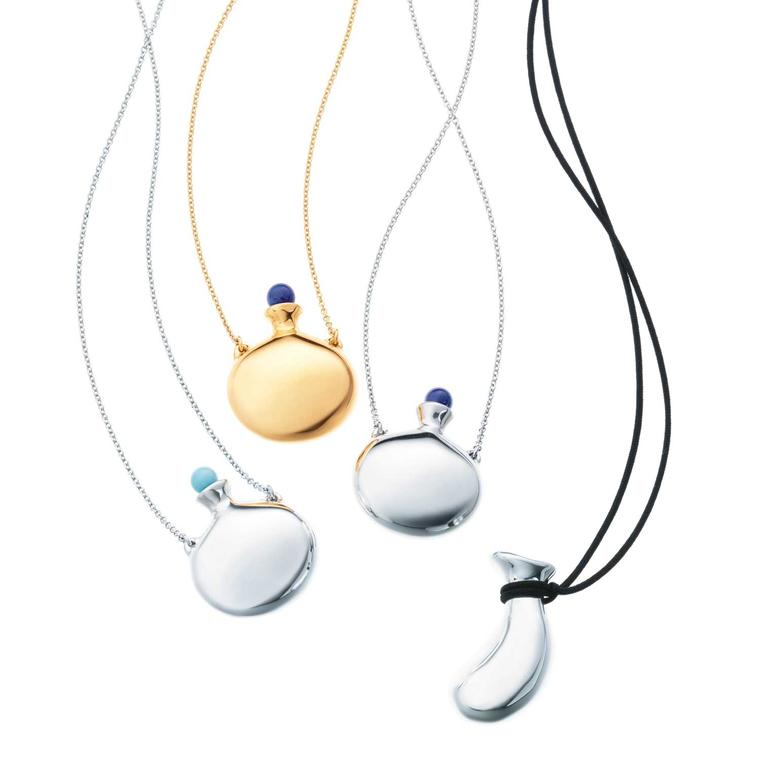 Elsa Peretti for Tiffany Bottle pendants