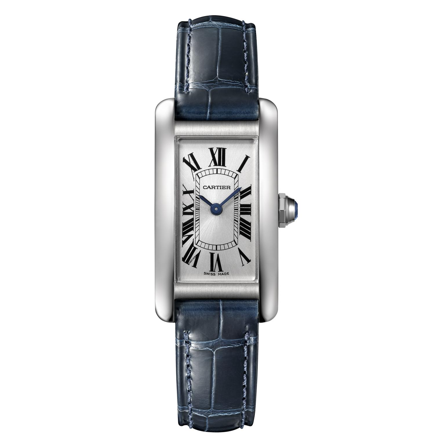 Cartier Tank Américaine small steel quartz