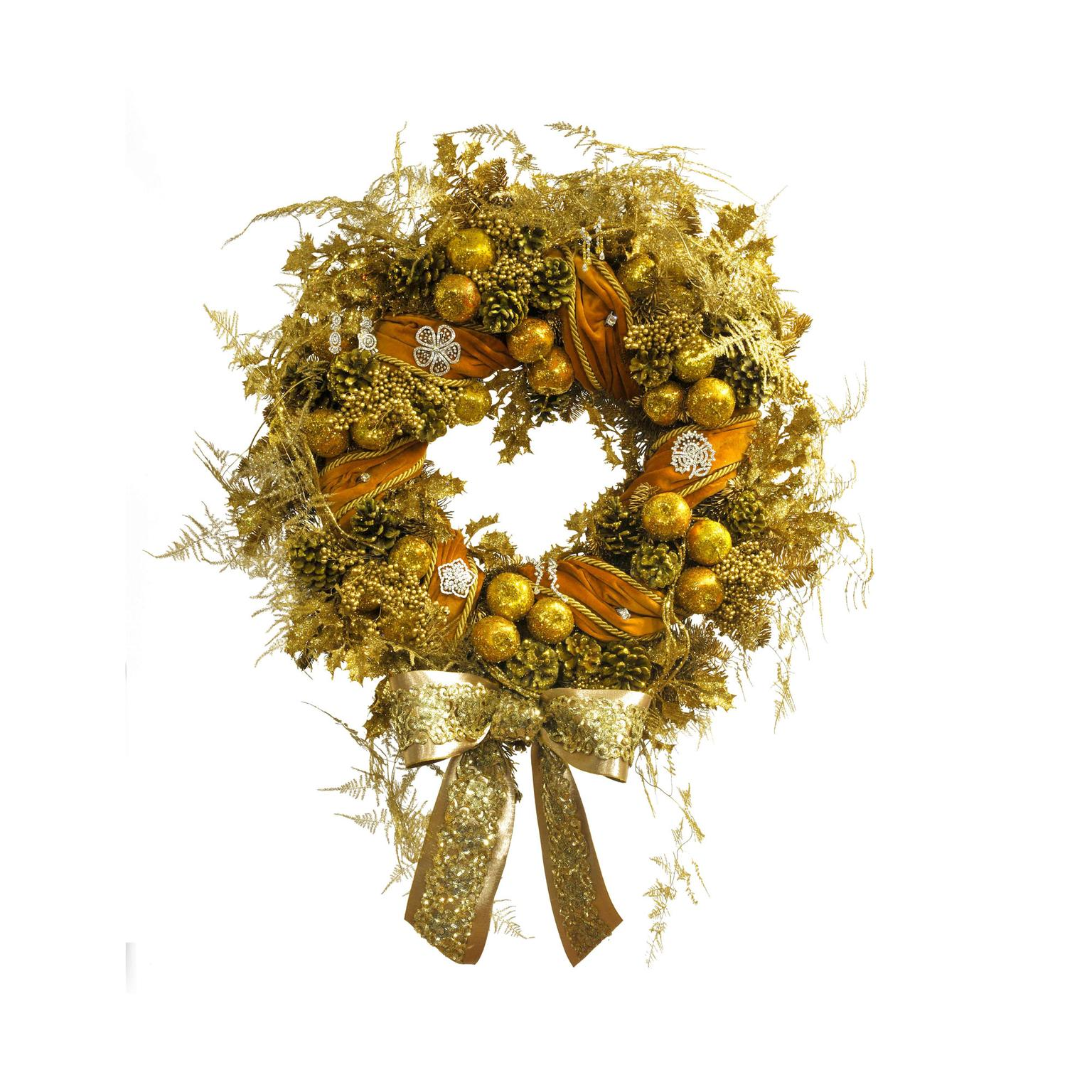 Paul Thomas and Ritz Fine Jewellery ultimate Christmas Wreath