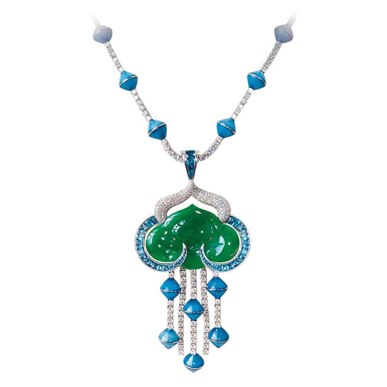 Avakian Imperial jade necklace