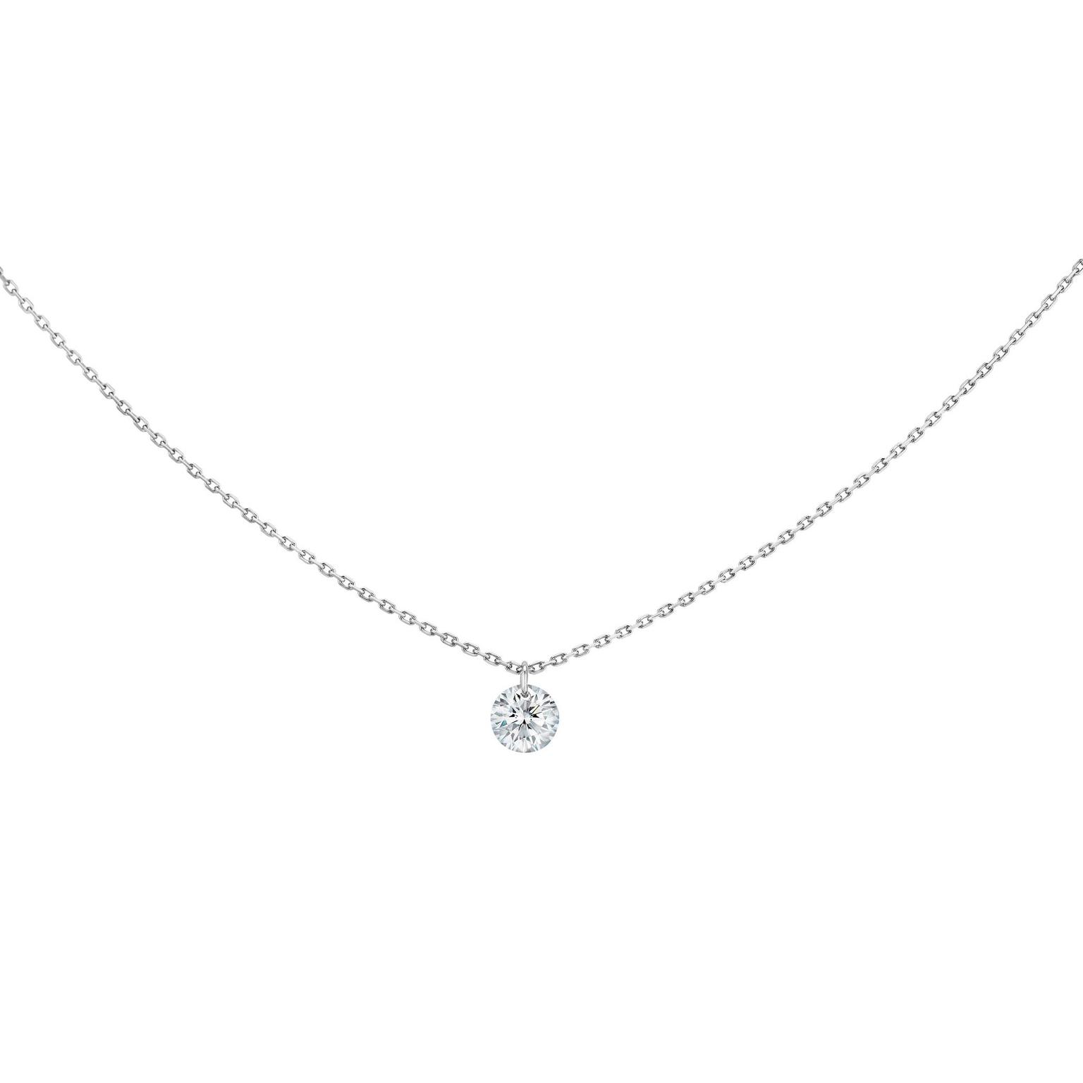 La Brune & La Blonde 360° brilliant-cut diamond pendant