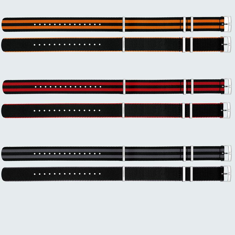 A selection of Omega NATO straps