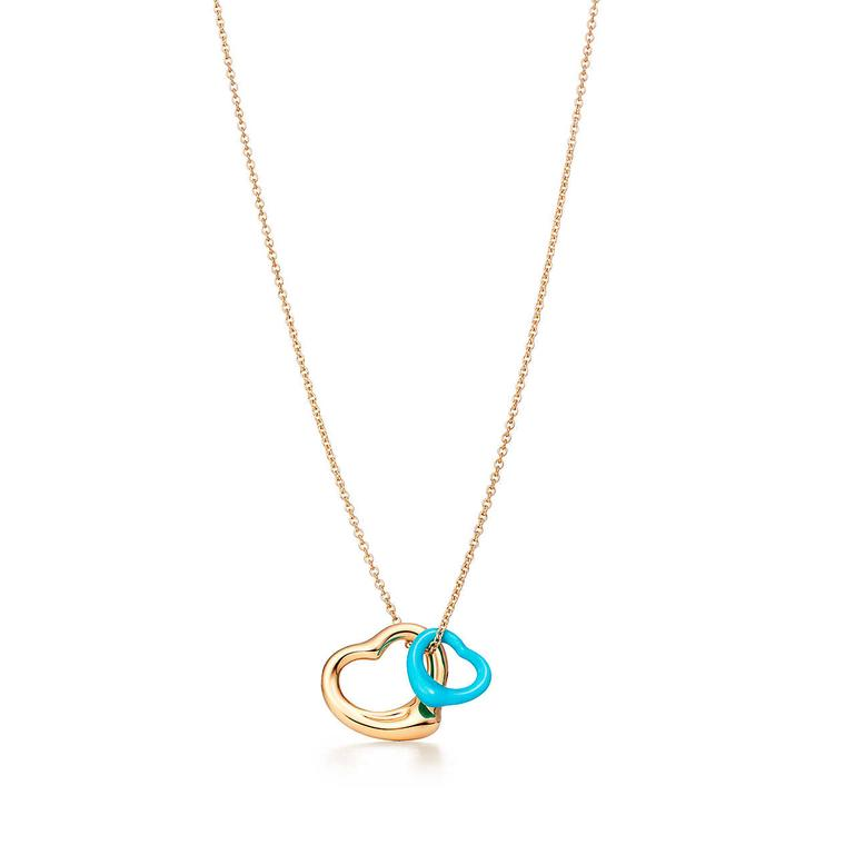Elsa Peretti Open Heart necklace for Tiffany