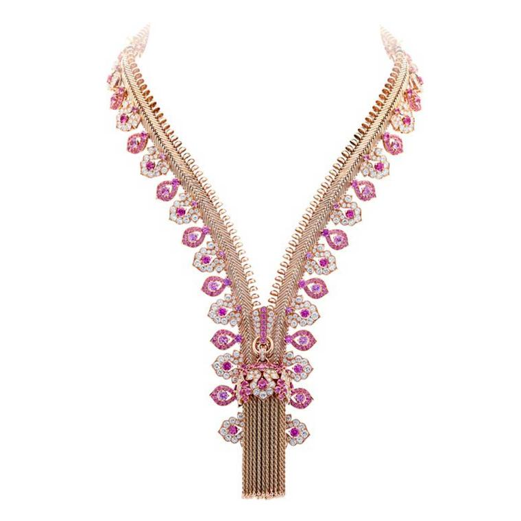 Antique Van Cleef & Arpels Zip necklace