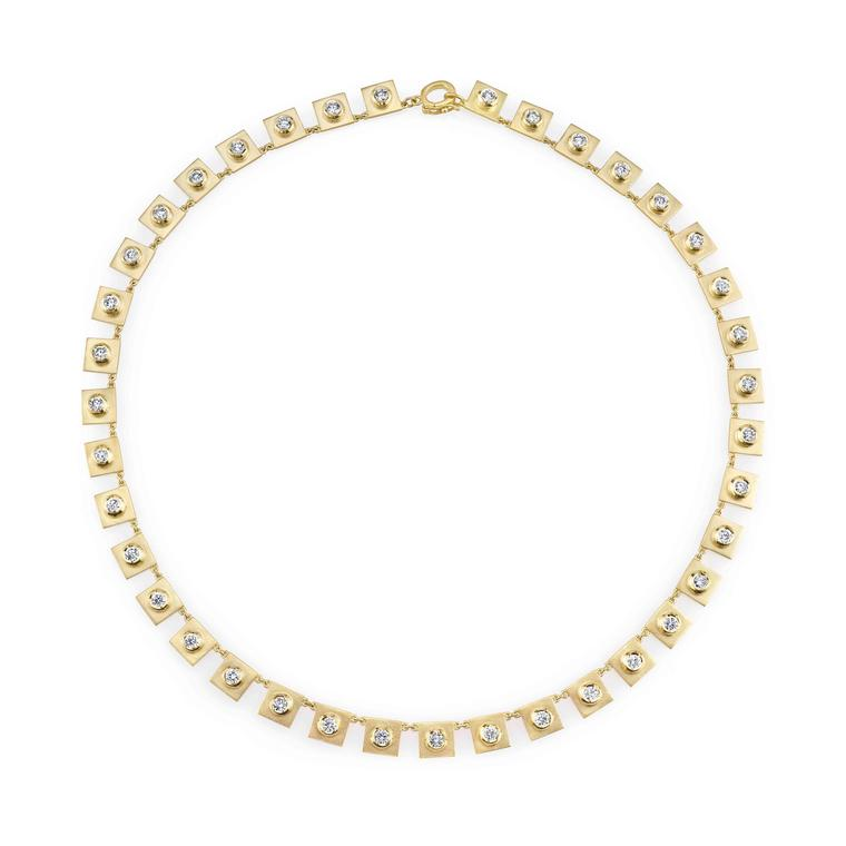 Irene Neuwirth gold diamond necklace