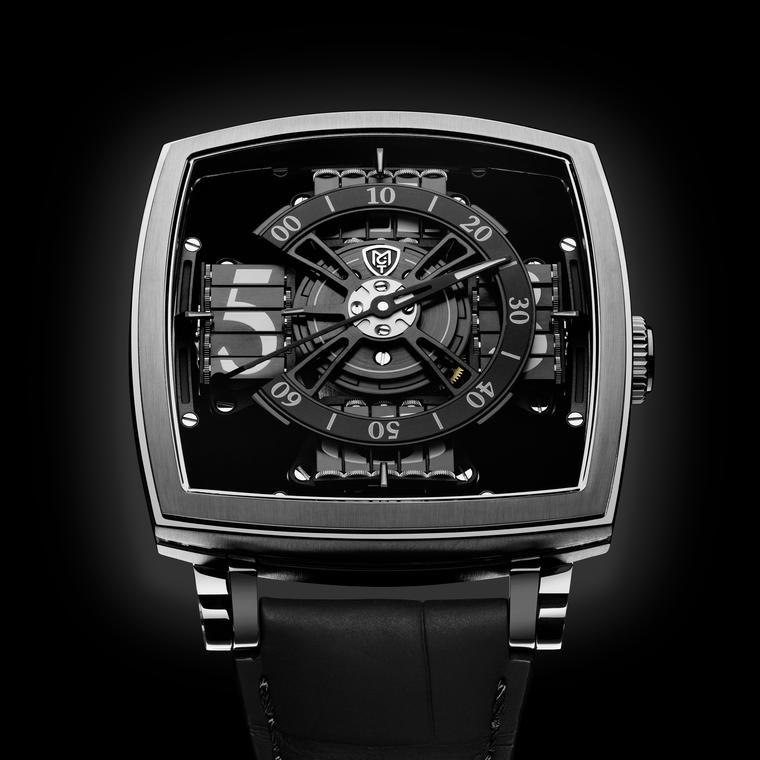 MCT S110 Evo Vantablack watch