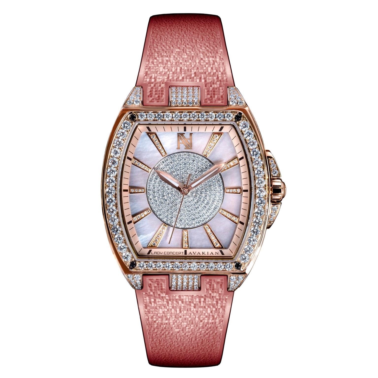 Avakian Lady Concept Pink watch