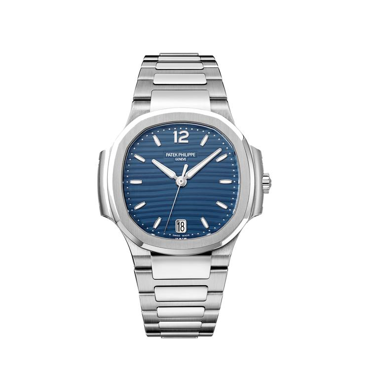 6a2c10870 Patek Philippe Nautilus stainless steel. Patek Philippe Nautilus ladies'  watch ...