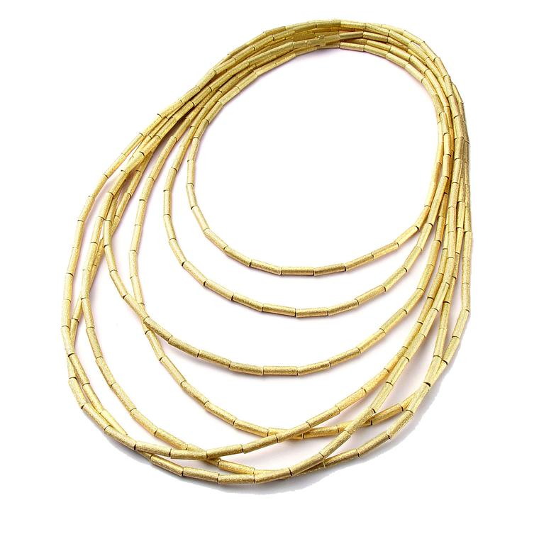H.Stern gold necklace