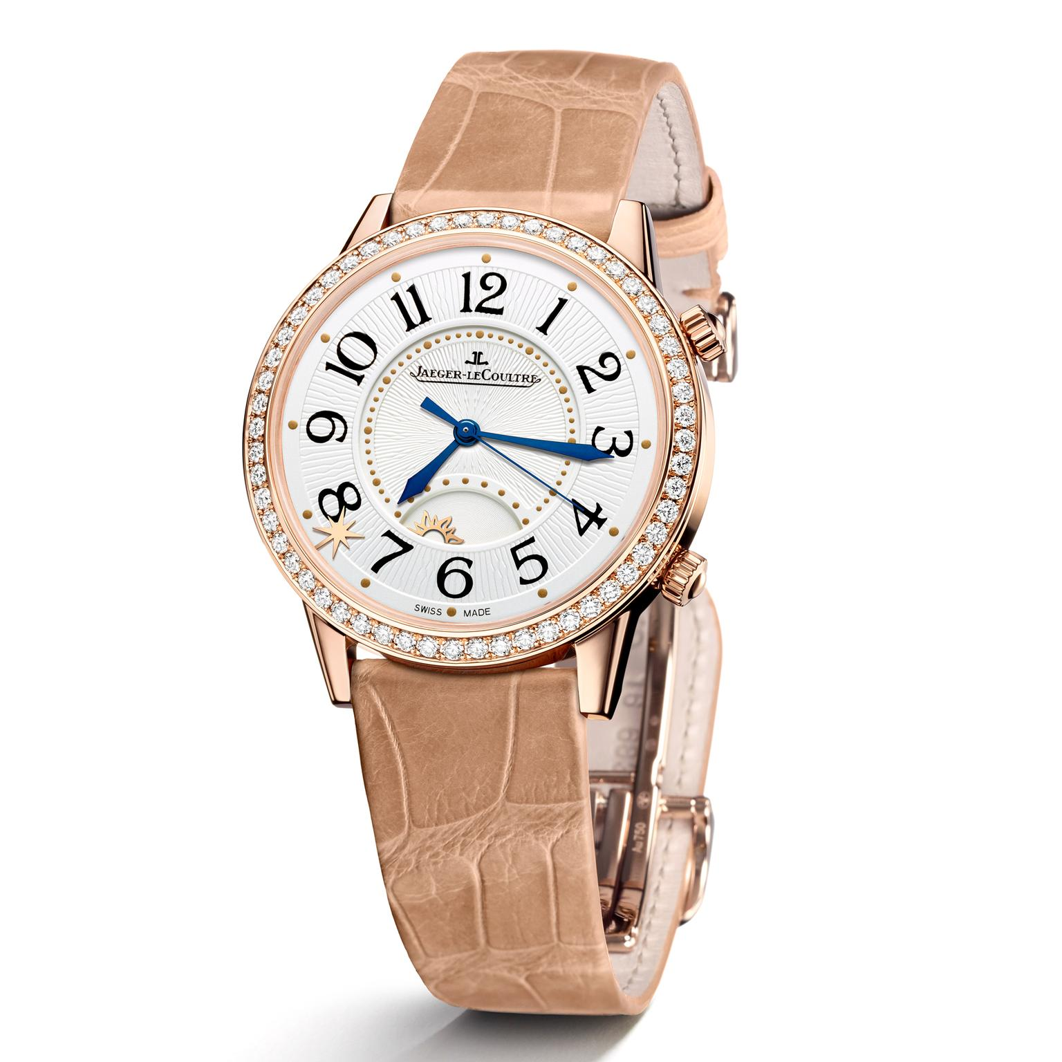 Jaeger-LeCoultre Rendez-Vous Sonatina Large in pink gold