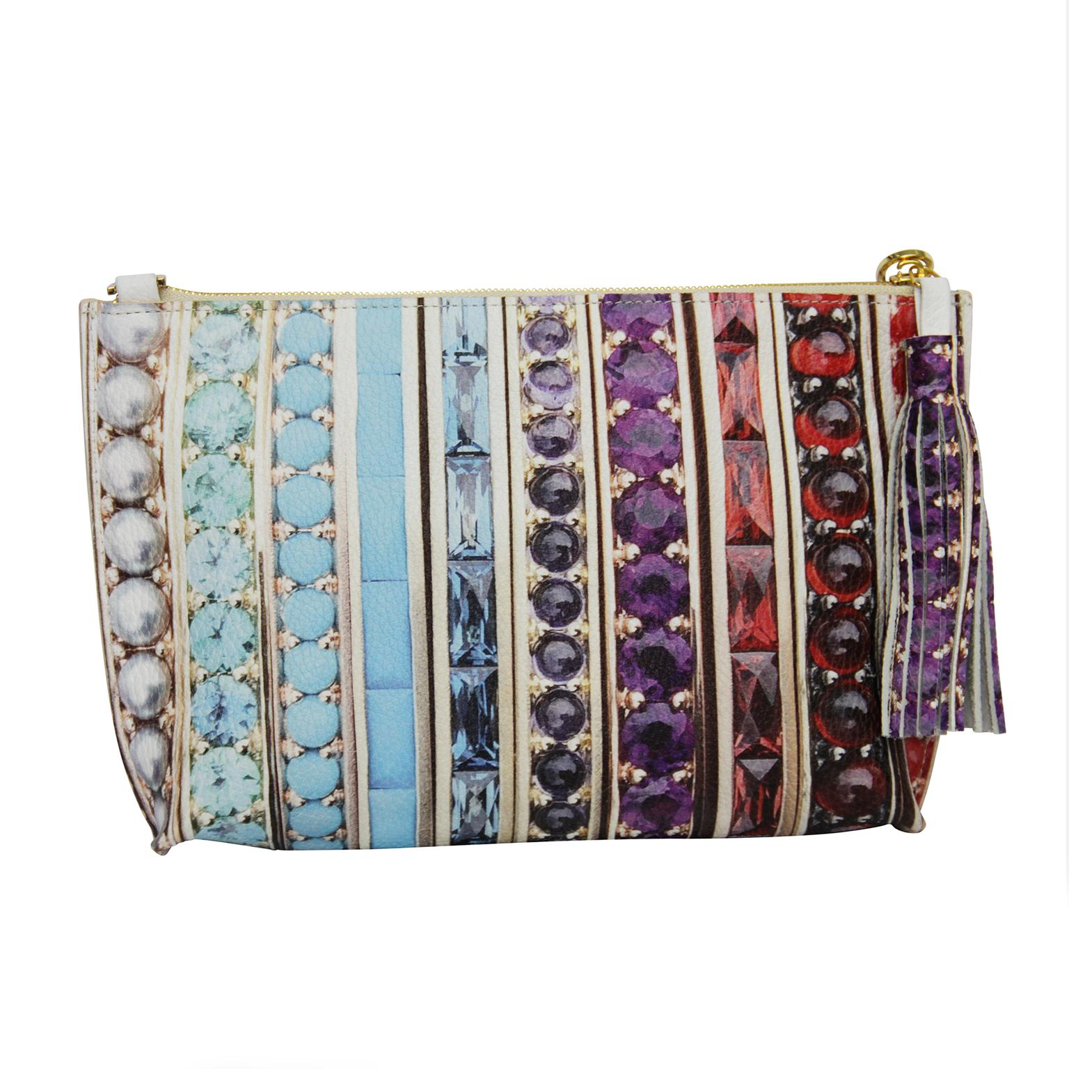 PG x Jane Taylor Jewelry soft clutch