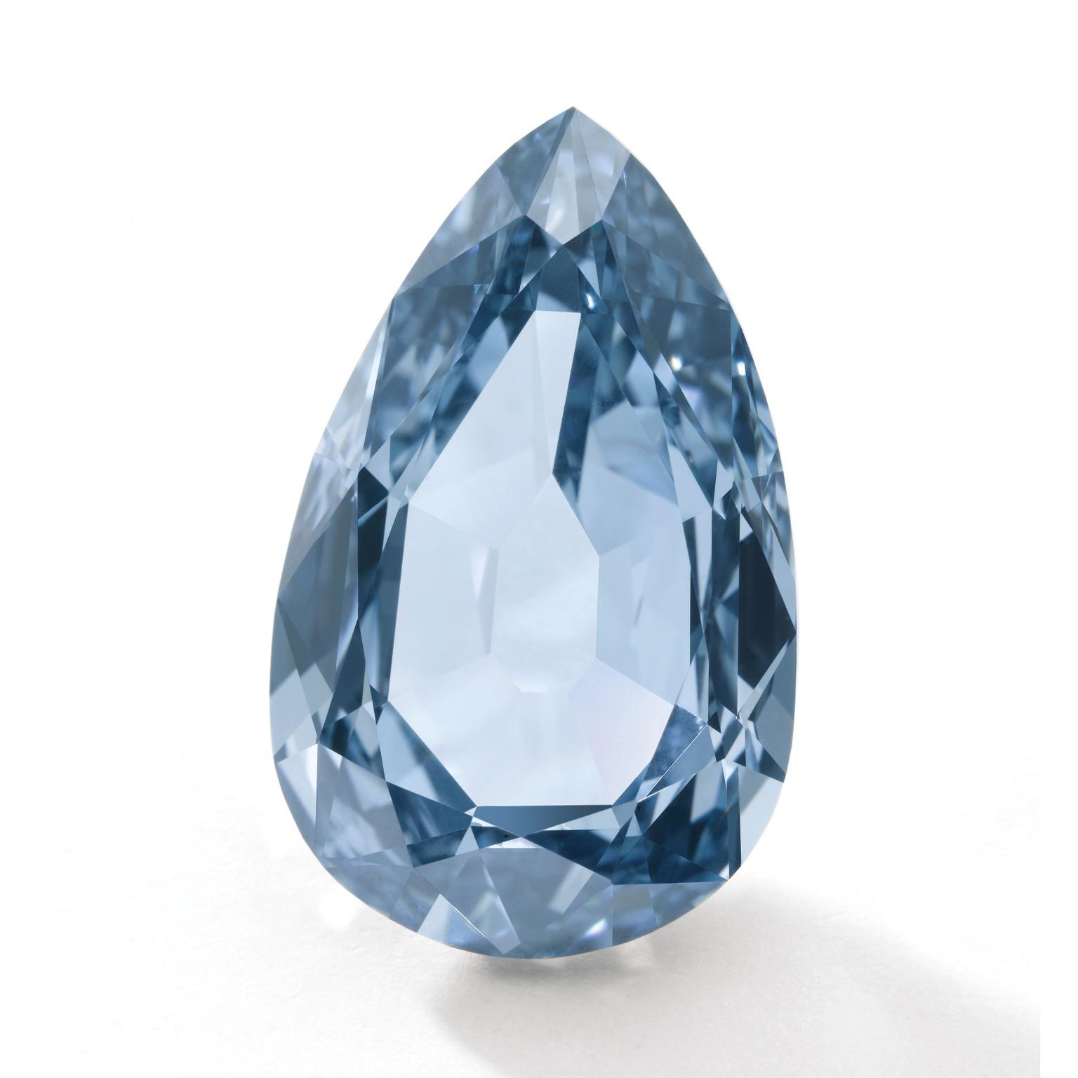 Sotheby's Fancy Vivid blue diamond