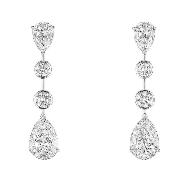 Chaumet splendour diamond earrings