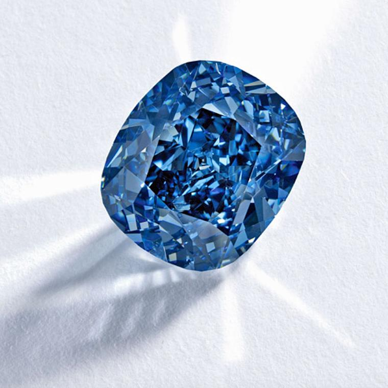 Sotheby's Blue Moon diamond