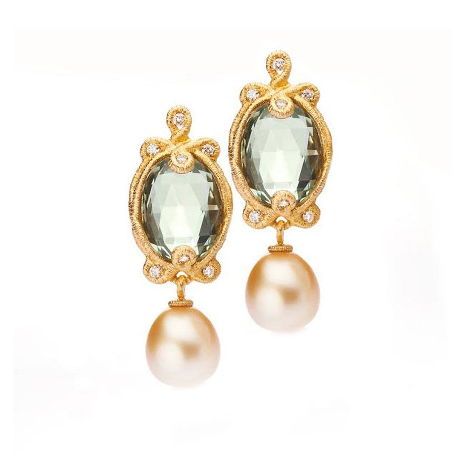 Brigitte Adolph pearl earrings