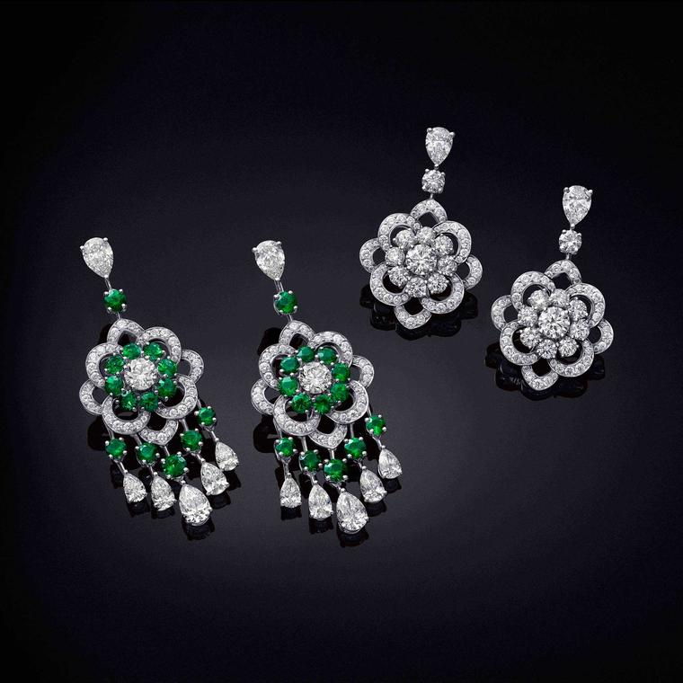 Graff Rosette collection earrings