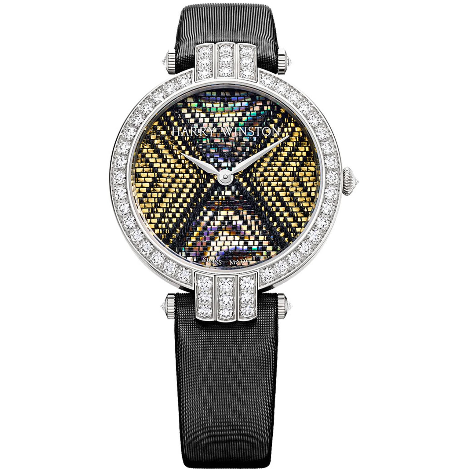 Harry Winston Premier Precious Weaving haute couture watch