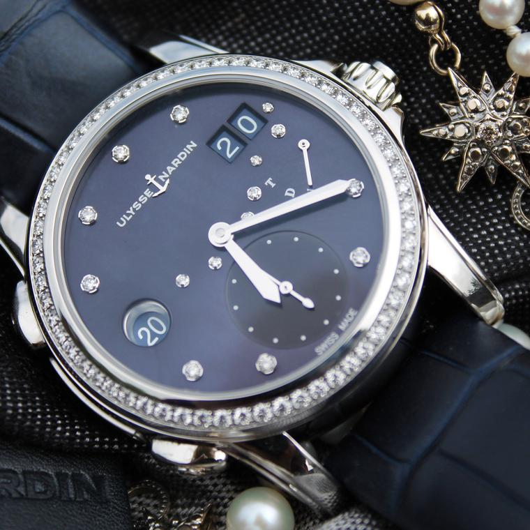 Ulysse Nardin Classic Lady Dual Time watch