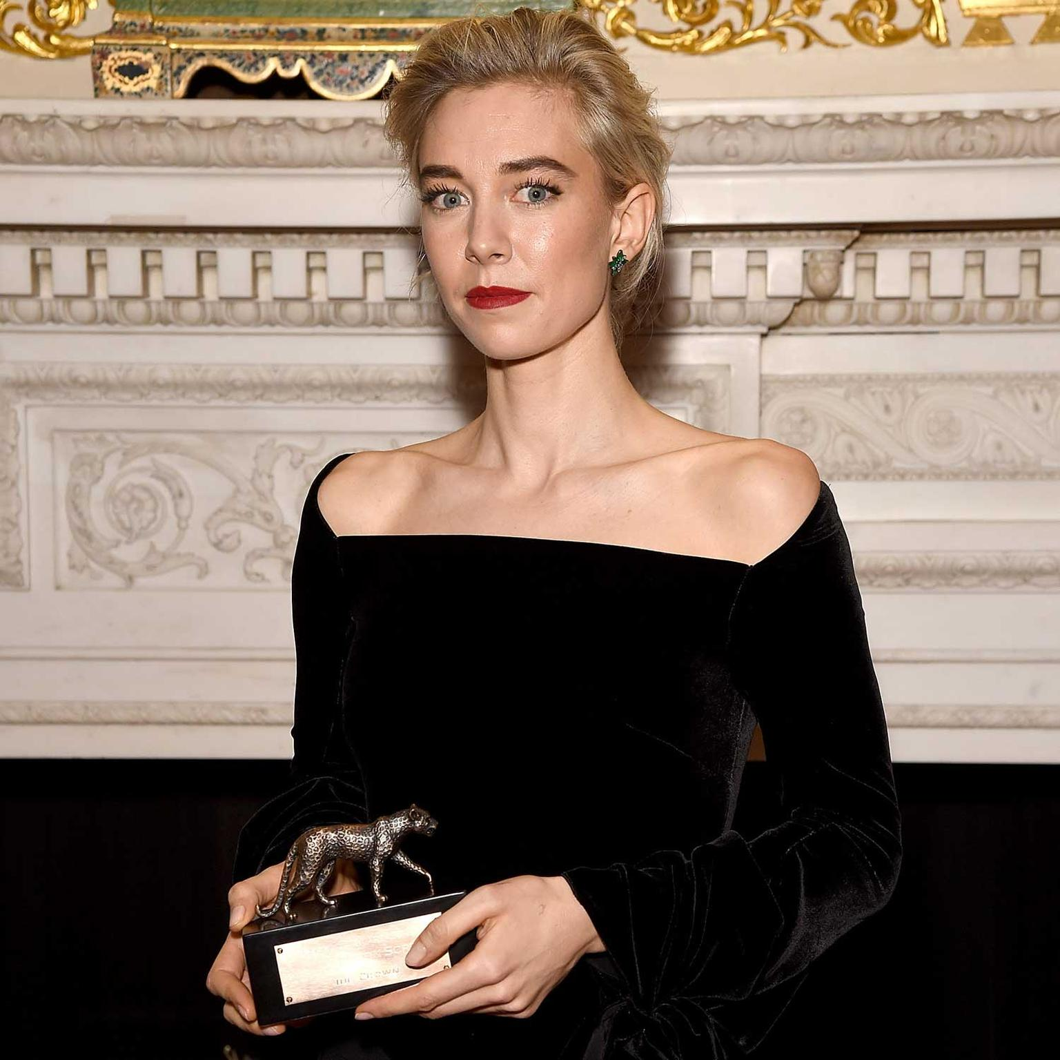 Leopard Award for Jewellery on Screen accepted by Vanessa Kirby on behalf of The Crown